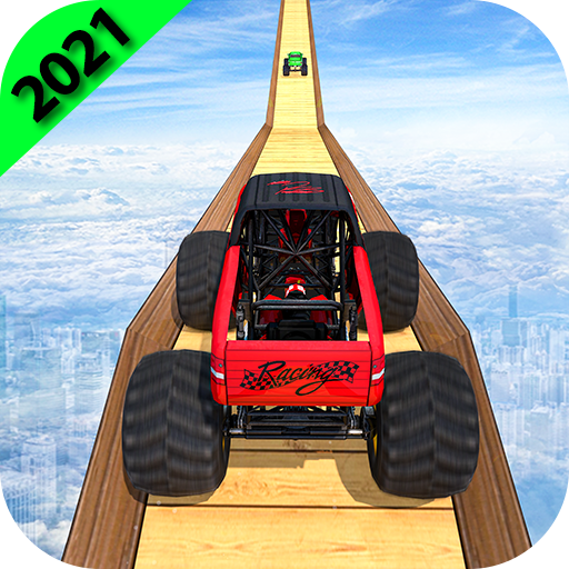 Monster Truck Stunts on Impossible Track New 2021