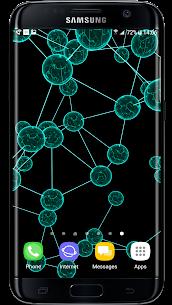 Crystal Particle Plexus 3D Live Wallpaper APK 1