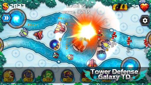 Tower Defense: Galaxy TD 1.3.2 screenshots 11