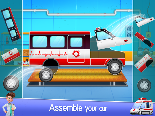 Ambulance Doctor Hospital - Rescue Game  screenshots 14