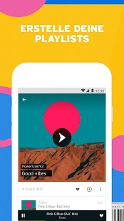 SoundCloud - Musik, Songs, Mixe & Playlists Screenshot