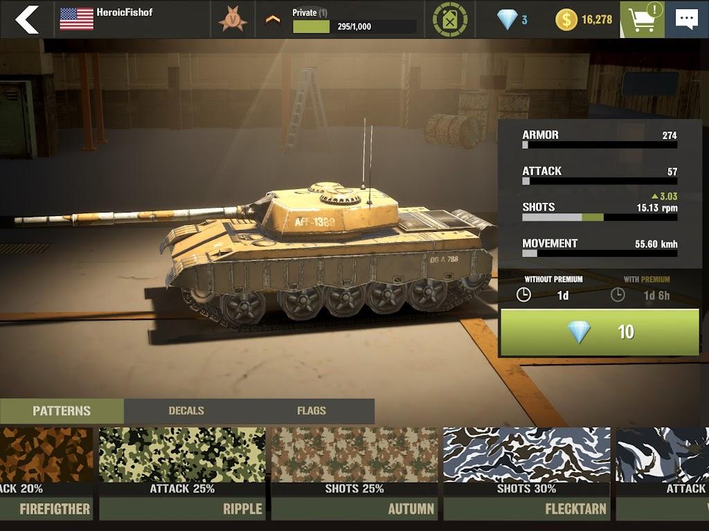 War Machines: Tank Army Game poster 14