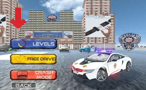 Real i8 Police Car Game: Car Games 2021 apkpoly screenshots 15