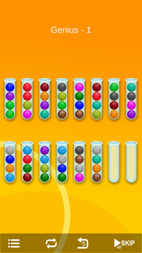 Ball Sort - Bubble Sort Puzzle Game screenshots 16