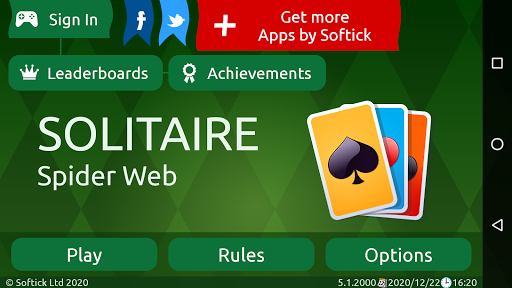 Spider Solitaire (Web rules)  screenshots 8