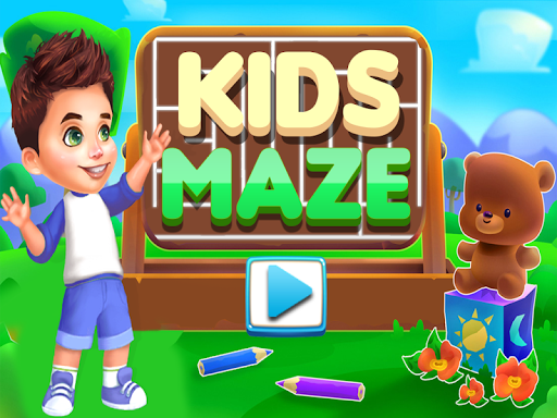 kids maze : educational puzzle game for kids screenshot 1