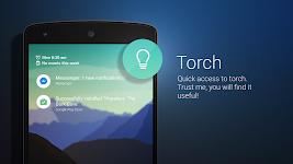 screenshot of Bottom Slider - Lock screen