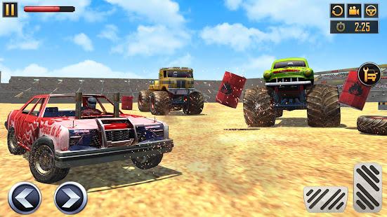 Police Demolition Derby Monster Truck Crash Games 3.3 APK screenshots 7