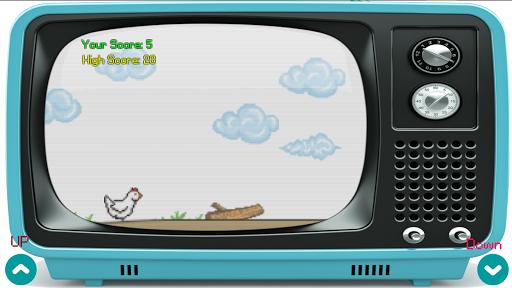 chicken run on old television screenshot 2