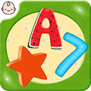 ABC for kids! Alphabet for toddlers! Numbers Shape
