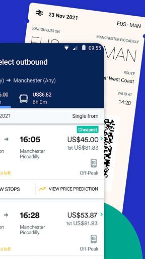 Trainline - Buy cheap European train & bus tickets 144.0.0.65146 screenshots 2