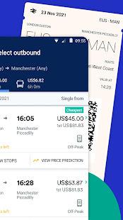 Trainline - Buy cheap European train & bus tickets 172.0.0.71790 Screenshots 2