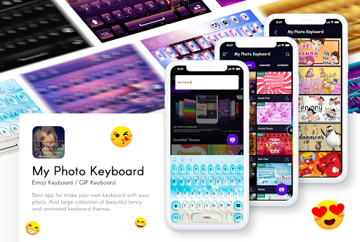 My Photo Keyboard - Picture keypad with Emoji, Led 5.7 Screenshots 2