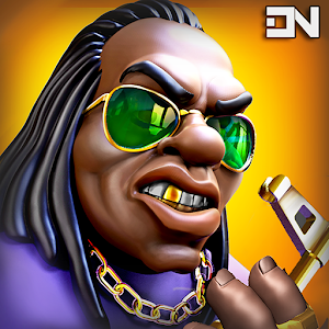 Downtown Gangstas Gangster City Hood Wars 0.4.40 by DYNAMICNEXT logo