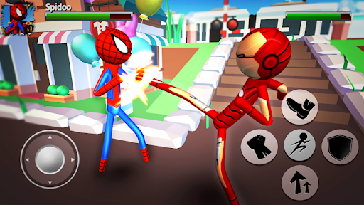 Cartoon Fighting Game 3D : Superheroes 1.5 screenshots 2