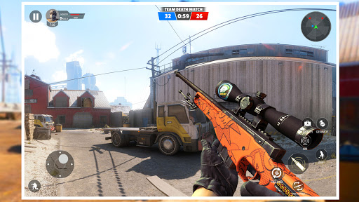 Modern Gun Strike:PvP Multiplayer 3D team Shooter  screenshots 18