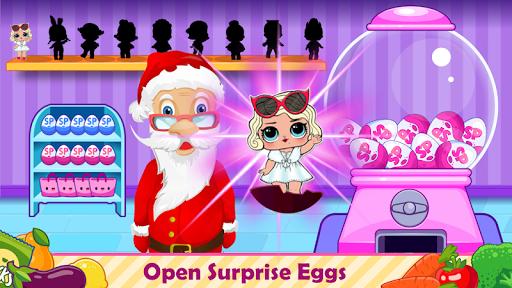 santa go shop - supermarket games screenshot 2