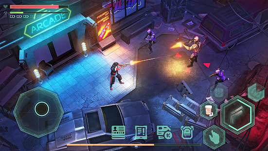 Cyberika: RPG cyberpunk action screenshots apk mod 3