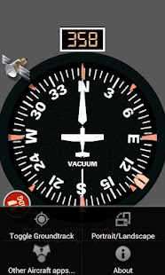 Aircraft Compass Free [legacy - see new app fDeck]
