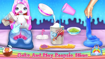 Unicorn Slime Poop: Toy Surprise Maker