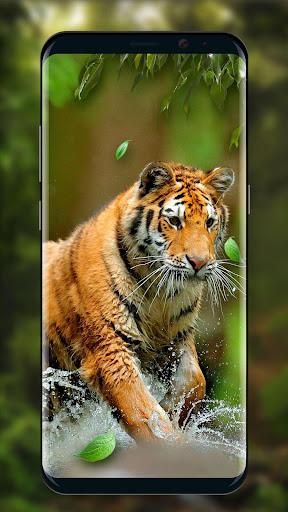 moving tiger live wallpaper screenshot 3