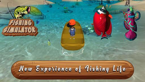 Ultimate Fishing Simulator : A Real Fisherman APK MOD – ressources Illimitées (Astuce) screenshots hack proof 1