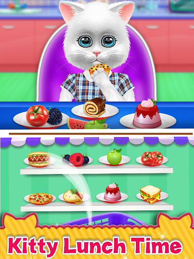 Cute Kitty Cat Care - Pet Daycare Activities Game android2mod screenshots 6