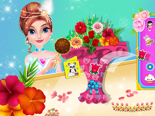 Princess flower garden - Cleaning & decoration apk 1.0 screenshots 1
