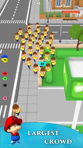 Crowd Run 3D : Multiplayer  screenshots 5