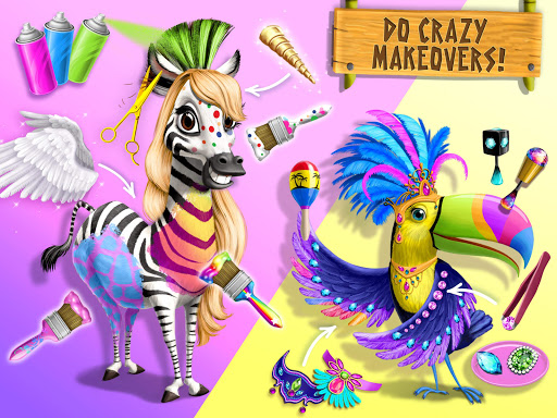 Jungle Animal Hair Salon 2 screenshot 14