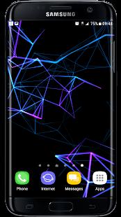 Neon Particles 3D Live Wallpaper