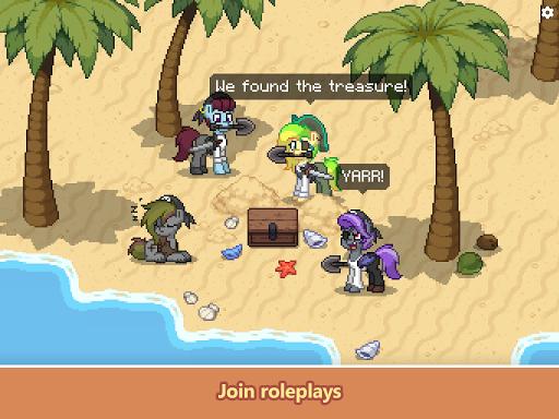 Pony Town - Social MMORPG screenshots 11