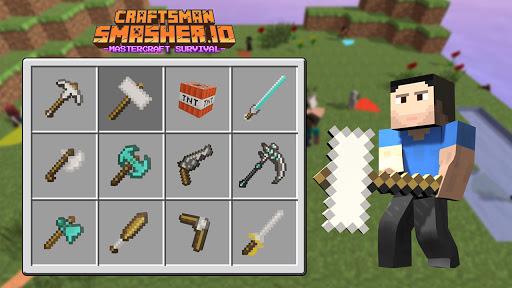 Craftsman Smasher.io - Mastercraft Survival  screenshots 11