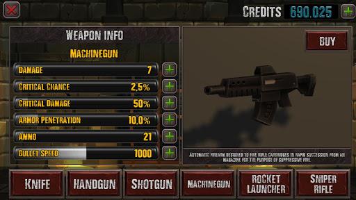 Code Triche ZomArena APK MOD (Astuce) screenshots 2