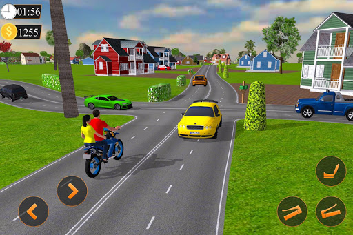 Offroad Bike Taxi Driver: Motorcycle Cab Rider 3.2.1 screenshots 4
