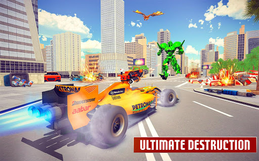Dragon Robot Car Game u2013 Robot transforming games 1.3.6 Screenshots 15