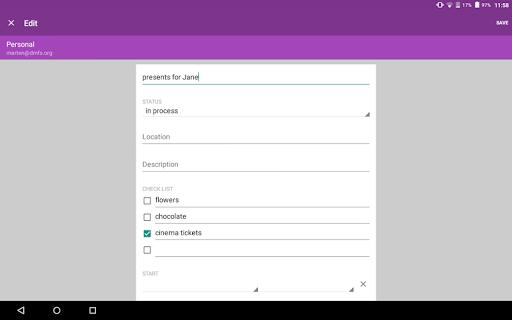 OpenTasks  screenshots 12