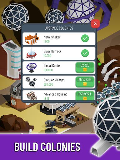 Space Colony: Idle  screenshots 11
