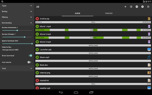 Advanced Download Manager & Torrent downloader screenshots 11