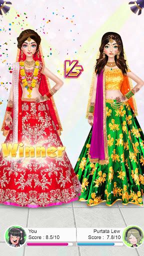 Indian Wedding Stylist - Makeup &  Dress up Games 0.17 screenshots 5
