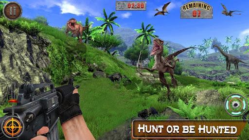 Dino Hunter 3D - Dinosaur Survival Games 2021 Apkfinish screenshots 7