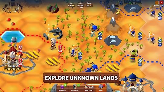Hexapolis MOD APK: Turn Based Civilization (Unlocked) Download 1