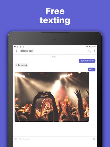 Text Free: WiFi Calling App ud83cudd93  Screenshots 7