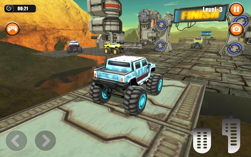 Ultimate Monster Truck: 3D Stunt Racing Simulator apkpoly screenshots 12