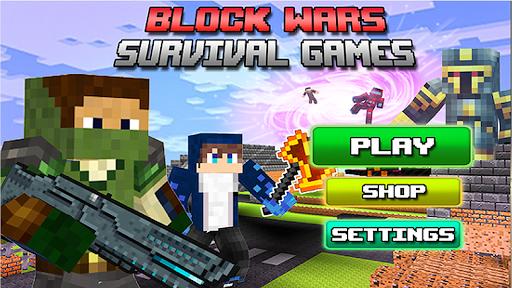 Block Wars Survival Games  screenshots 4