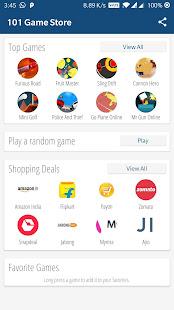 101 game store - free mini games (needs internet) hack
