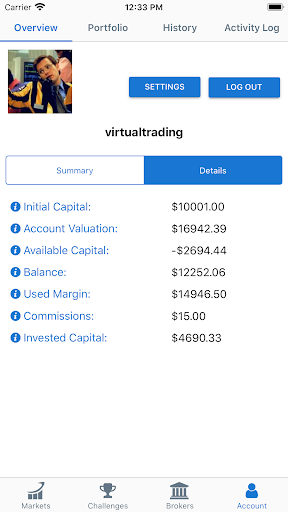 Foto do Virtual Trading