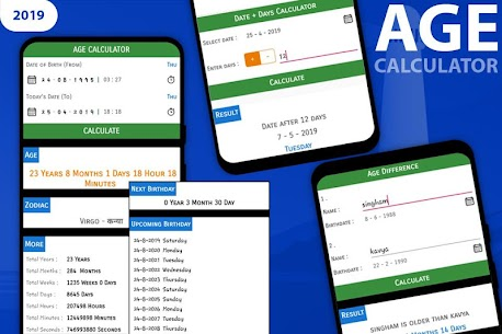 Age Calculator by Date of Birth , Birth Time 1.11 APK Mod for Android 1