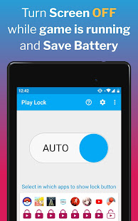 Play Lock - Boost Games Battery Performance