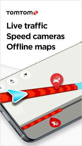 TomTom GO Navigation - GPS Maps & Live Traffic  screenshots 1